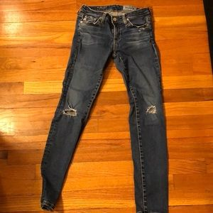 AG legging ankle super skinny jean. Size 25R.